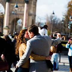 Love (Zafran Azmy) Tags: paris love couple selfie thelouvre