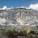 Calcarenitic eolianites over calcrete paleosol over calcarenitic eolianites (Grotto Beach Formation over Owl