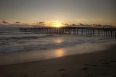 Angels Whisper (karenhunnicutt) Tags: sunrise golden peaceful northcarolina atlanticocean nagsheadpier walkonthebeach karenhunnicutt karenmeyer karenhunnicuttphotographycom minneapolisfineartphotography