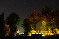 Giants. (Boulevard of Perspectives) Tags: autumn light colors night stars quebec magic giants