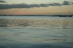 ocean sunset (luca_shady) Tags: ocean travel sunset sea water canon island mirror mar tenerife canary