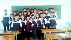 #Vietnamese #students #with #Laos #teachers (Wass.er) Tags: school never see you class forever teachers bye laos later forget my