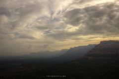 (k.u.s.h.) Tags: travel blackandwhite india mountains clouds sunrise trekking trek canon photography purple violet wanderlust hills caves maharashtra hdr gorakhgad sahyadris kushmehta canon600d trekmates