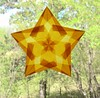Gold Window Star