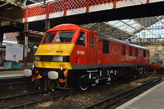 90036 Crewe Station Naming Ceremony_021214_3 (DS 90008) Tags: station train railway loco crewe locomotive passenger freight dbs greattrainrobbery histoy ews class90 ohle 90036 driverjackwills