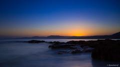 Pose longue au couchant_001 (bonacherajf) Tags: sunset corse corsica coucherdesoleil palombaggia portovecchio poselongue