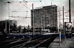 Dresden Hochhaus am Pirnaischen Platz (hutschinetto) Tags: film:iso=80 teanol film:brand=orwo film:name=orwonp2080 orwonp2080 filmdev:recipe=9841