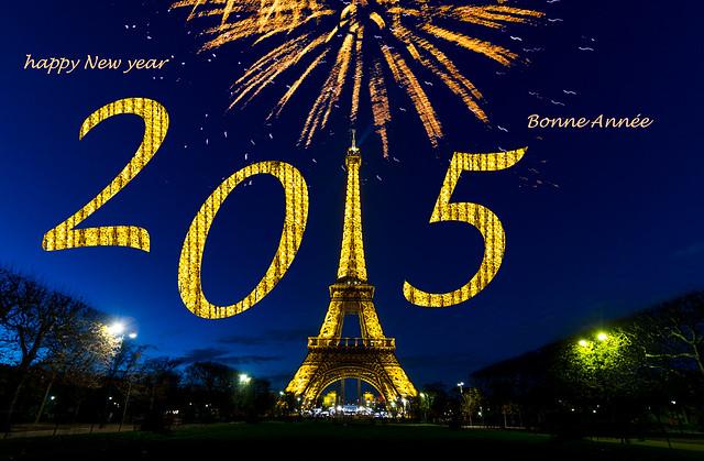 Happy New Year - Bonne Année 2015