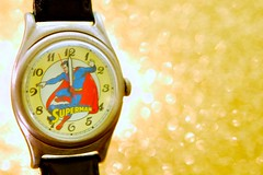 Happy New Year 2015! (JD Hancock) Tags: favorite yellow comics fossil time watch superman cc superhero comicbooks newyears wristwatch dccomics superheroes char happynewyear instudio 2015 nogeo jdhancock