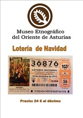 """Se acerca el día y todavía no teneis la lotería del museo...???....os lo ponemos fácil, para los que no os podeis acercar hasta aquí, lo teneis a la venta también: en Porrúa en el Restaurante La Peña´l Cura, Tienda El Pizá y Bar La Bolera, y en Llanes, en • <a style=""""font-size:0.8em;"""" href=""""http://www.flickr.com/photos/41424175@N07/15989367722/"""" target=""""_blank"""">View on Flickr</a>"""