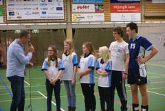Kampioen dec.2014: Mini N5.4  vlnr: voorz. Erik v Faassen, Lise Kaptein, Sarah v Blanken, Merle Veurink, Sarah Hulzebosch en trs. Job en Tim
