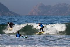 Surf en Patos (dfvergara) Tags: espaa mar agua surf playa galicia deporte surfistas islas ola tablas patos espuma cies surferos nigrn islascies playadepatos illascies
