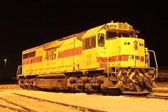 LQ3122 stabled at Forrestfield 28-3-12 (Aussie foamer) Tags: train clyde railway locomotive arg westernaustralia emd westrail lclass forrestfield wagr lq3122 l271