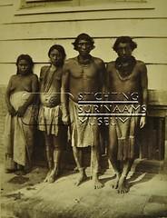 Groepsportret Indianen/Inheemsen