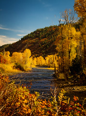 autumn - Dolores, Colorado - 10-17-14  02 (Tucapel) Tags: colorado dolores paisajelandscapeautumnleavesfallstreamtrees