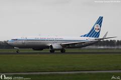 PH-BXA (dabianco87) Tags: amsterdam plane aircraft boeing klm schiphol ams aerei retrò aeroplano b737800 phbxa