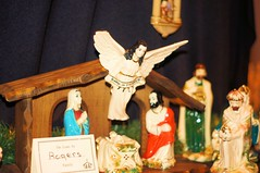 """""""Gloria in excelsis Deo"""" (Andy Arecco) Tags: christmas church set angel pembroke flying display florida god glory south scene oasis pines figures nativity highest porcelan gloriainexcelsisdeo"""