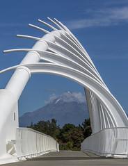 Te Rewa Rewa Bridge (Colin.G.Coleman) Tags: newzealand taranaki newplymouth mountegmont terewarewabridge