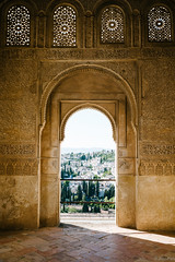 Gateway to Albayzin (jkpark78) Tags: door travel shadow sun architecture spain nikon mosque arabic alhambra granada andalusia moor 2014 albayzin d800e