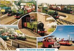 Kerrs Miniature Railway, Arbroath (trainsandstuff) Tags: train vintage postcard retro archival arbroath kerrs miniaturerailway