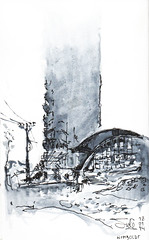 Humboldt nublado (jc_figuera) Tags: urban sketch humboldt drawing venezuela caracas dibujo avila sketchers boceto