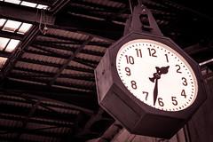Central Clock Milano (denisgraphy) Tags: italien italy milan clock station canon milano bahnhof mailand 700d