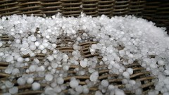 Ice from the sky (KrazyAngelKat81) Tags: uk storm ice weather hail