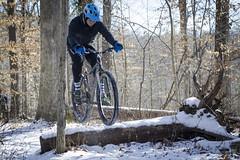 Snowy Avalon Ride (bundokbiker) Tags: patapsco avalon harold