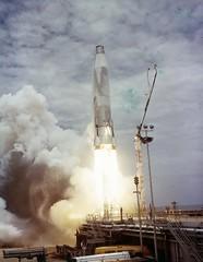 Liftoff Atlas 14D--'Liftoff binder; 14D; 8-11-59; trace Atlas 14D; firing streak test 2003 (San Diego Air & Space Museum Archives) Tags: liftoff atlas 14d