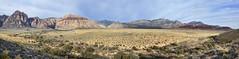 Red Rock Canyon Overlook Panorama (BongoInc) Tags: redrockcanyon panorama southwest landscape lasvegas nevada mojavedesert