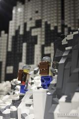 Towards The Summit (DMeadows) Tags: mountain brick museum climb scotland model lego peak scene exhibition climbing warren minifig climber paisley wonders mountaineer minifigure mountaineers renfrewshire minifigures elsmore davidmeadows dmeadows davidameadows