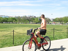 IMG_0416 (FOTOSinDC) Tags: shirtless man hot bike candid handsome biker shorts