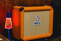 O R A N G E A M P S (Jonhatan Photography) Tags: music orange london canon 50mm amps sounds homestudio