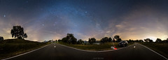360 grados (Javier Martnez Morn) Tags: madrid road light sky car night clouds way stars landscape noche calle oak highway carretera paisaje telescope coche cielo pollution nubes orion estrellas constelacion toyota moran javier milky martinez contaminacion starry constellation celestron avila advanced vx encina cebreros luminica jmartinez jmartinez76