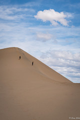 2016DeathValley19s-1 (skiserge1) Tags: california park travel blue sky usa sun hot texture tourism nature sunrise landscape death sand colorful pattern desert flat natural outdoor hiking dune extreme scenic dry hike national mesquite valley wilderness desolate barren arid