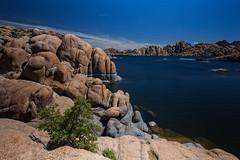 Watson Lake (p r a t y u s h 360 | PHOTO) Tags: blue arizona sky lake southwest water rock canon landscape rocks outdoor boulder prescott canon5d3 canon2470ii