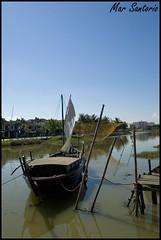 Rio Thu bon (Mar Santorio) Tags: rio d50 river nikon vietnam hoian saigon thubon