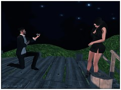 He Asked She Said Yes d (JenJen Sommerfleck ~ Taking Clients~) Tags: love avatar digitalart marriage secondlife virtualreality stm proposal familiy digitalphotography roleplay virtualworld virtualphotography shootthemoon virtualart artography jenjensommerfleck