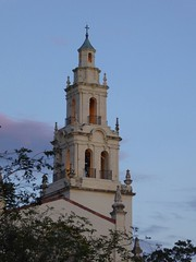 2016-05-06 19.59.44 (palm_goodness) Tags: trees tower college church bells orlando cross dusk steeple rollins granite ladder ornamental