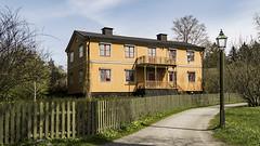 Wooden house at Skansen in Stockholm, Sweden 30/4 2016. (photoola) Tags: sweden stockholm skansen djurgården gulahuset photoola