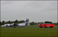 OO-VLI Fokker F50 VLM Airlines (elevationair ) Tags: aviation landing arrival emergency runway landed dub airliners dublinairport diversion f50 fokker emergencylanding vlm avgeek fokkerf50 eidw vlmairlines landinggearproblem oovli 2052016 diverttodublin vlm12lw disableaircraft lutonwaterford runwayblocked