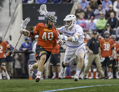 University of Maryland versus Johns Hopkins (crabsandbeer (Kevin Moore)) Tags: people college sports speed evening action maryland baltimore um lacrosse ncaa johnshopkins