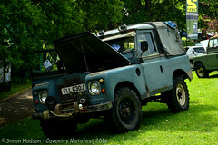 Coventry Motofest 2016 - Land Rover (Si 558) Tags: rover land series coventry landrover carshow defender series2 2016 motofest landroverseries2 coventrymotofest