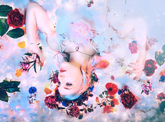 As We Are (Kindra Nikole) Tags: life flowers sky color floral loss beauty night mom death hope sadness dream mother despair float magical starry kindra whimsical purity nikole