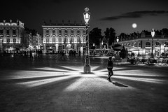 La place Stanislas by night. (Bouhsina Photography) Tags: bw white black art 35mm canon noiretblanc lumire sigma nancy lorraine stanislas bouhsina 5diii art3514 bouhsinaphotography