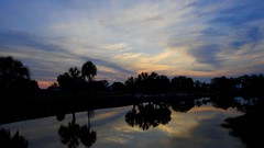 May 16th Sunset (Jim Mullhaupt) Tags: pictures camera pink blue sunset red wallpaper sky orange sun lake color reflection tree water weather silhouette yellow clouds landscape photography gold evening photo pond nikon flickr sundown florida dusk snapshot picture palm exotic p900 tropical coolpix bradenton geographic endofday cloudsstormssunsetssunrises nikoncoolpixp900 coolpixp900 nikonp900 jimmullhaupt