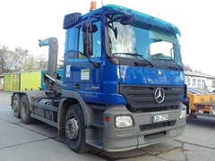 Mercedes Benz 2541 (Vehicle Tim) Tags: truck mercedes mb fahrzeug lkw actros wlf wechsellader