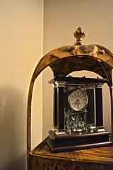 Antique Clock Style (diamondzieman) Tags: brown clock warm antique shelf earthy frame framing earthtone antiqueclock