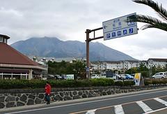 100 percent accurate sign (gwilli) Tags: animated gif wiggly japan japan2014 sakurajima