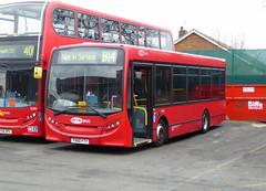 GAL MB 153 - YX60FTY - NSF - BX BEXLEYHEATH BUS GARAGE - SAT 19TH MAR 2016 (Bexleybus) Tags: bus london ahead kent garage go route 200 dennis enviro metrobus tfl 153 bexleyheath adl b14 bx goahead yx60fty